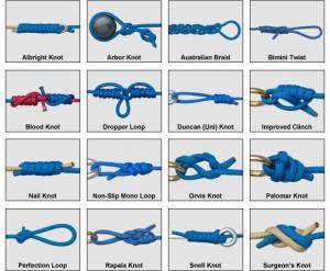 basic fishing knots