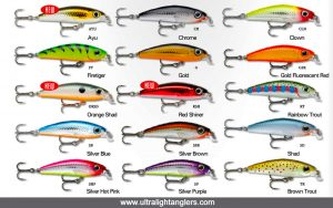 Rapala Ultra Light Minnow 4cm