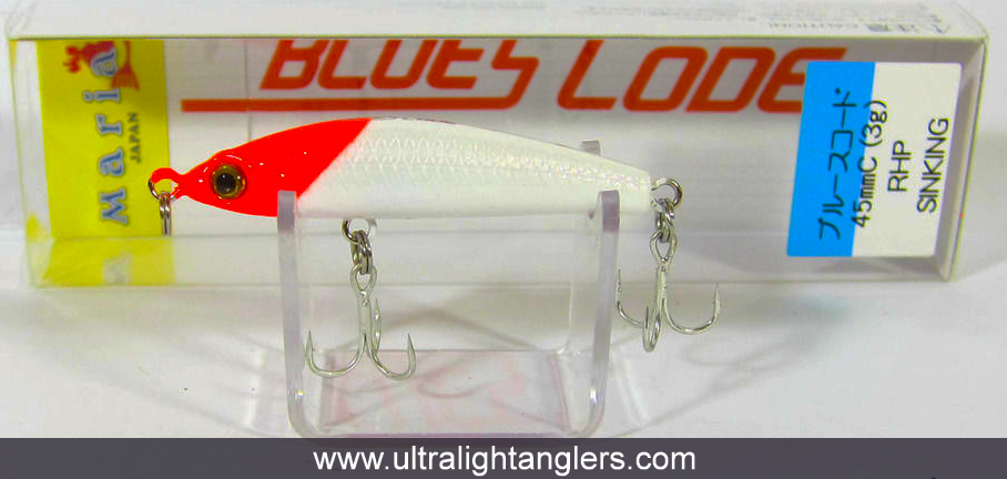 Maria Blues Code Pencil Sinking Lure Type C 45mm