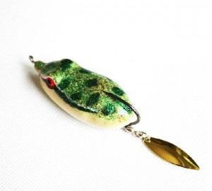 Frog-Lure-with-spinner-snakehead-killer