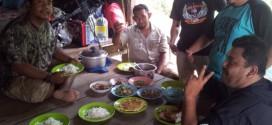 Kawasan Dapur Tempat Kami Masak dan Makan