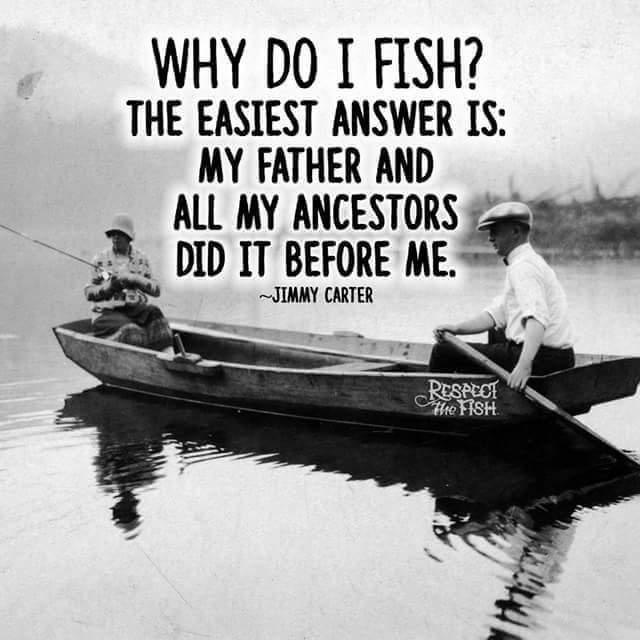 why do I fish