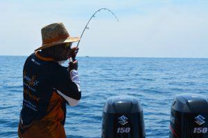 kanicen-nix-sailang-ultralight-rod-bending-sail-fish