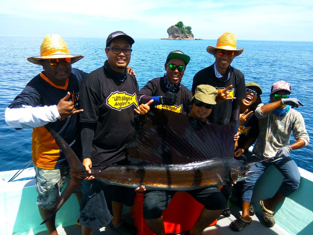 kanicen-nix-sail-fish-ikan-layaran-team-efforts