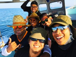 kanicen-nix-sail-fish-ikan-layaran-with-friends