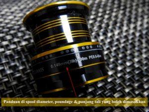 ultralight-anglers-info-pada-spool-reel-diameter-poundage-panjang-tali-yang-boleh-dimasukkan