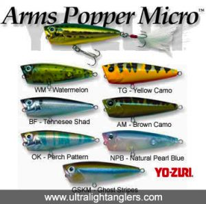Yozuri Arm Popper Micro