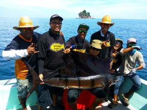 kanicen-nix-sail-fish-ikan-layaran-team-efforts