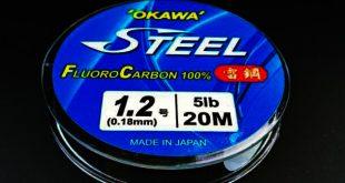 fluorocarbon leader okawa steel